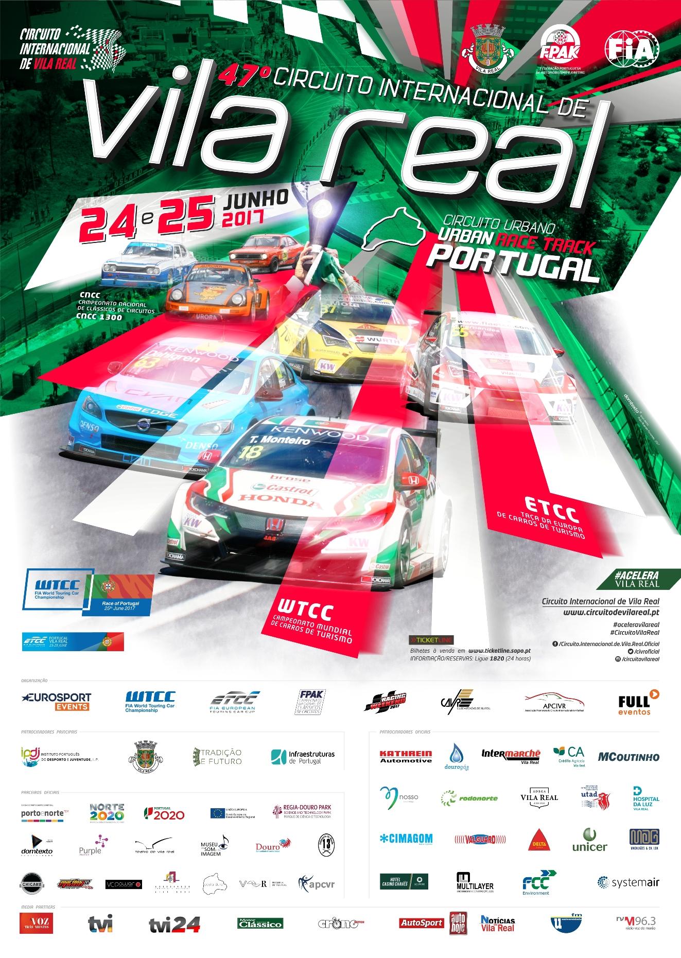Circuito Vila Real : Apresentação do º circuito internacional de vila real u circuito