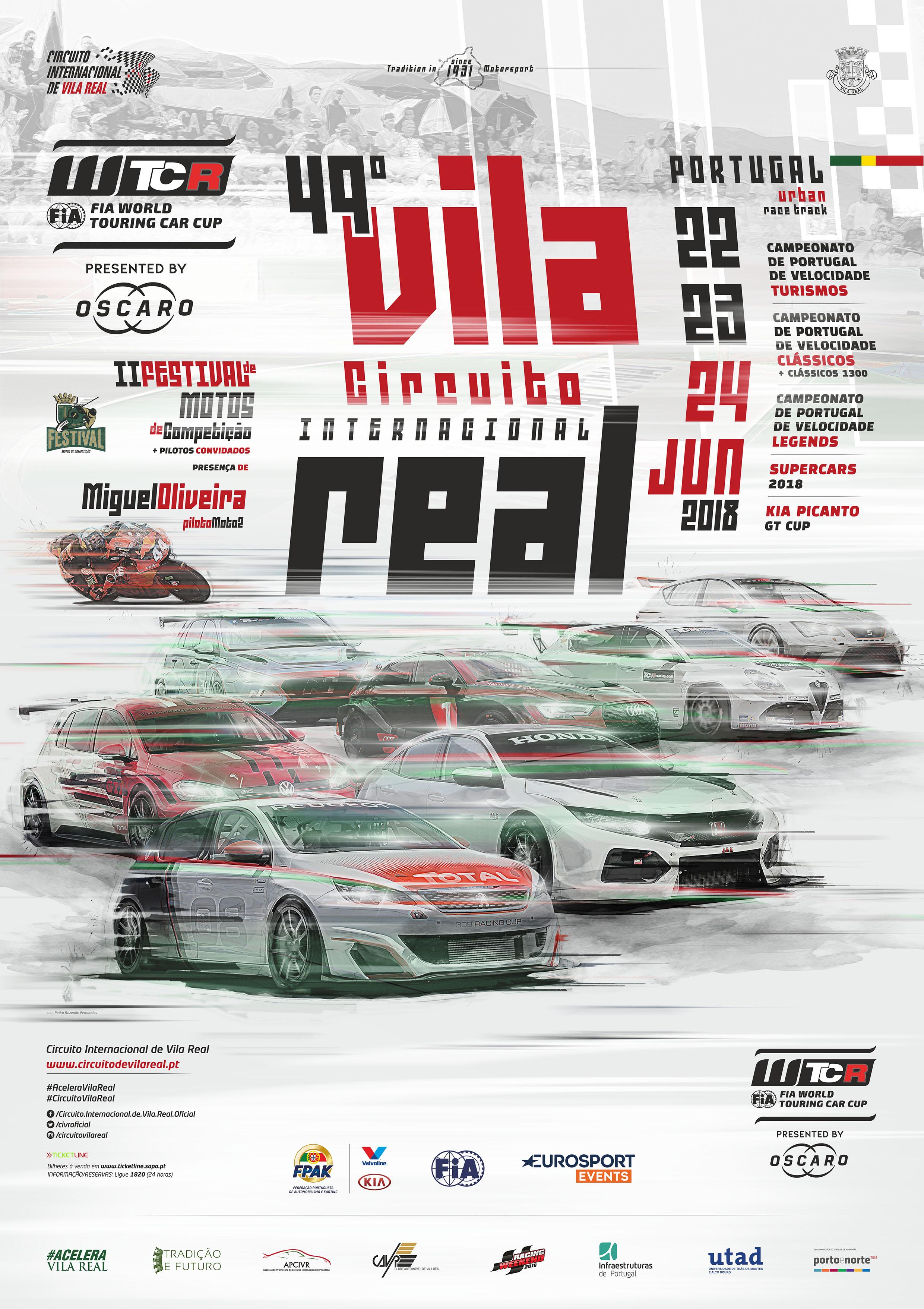Circuito Vila Real : Cartaz do º circuito internacional de vila real u circuito
