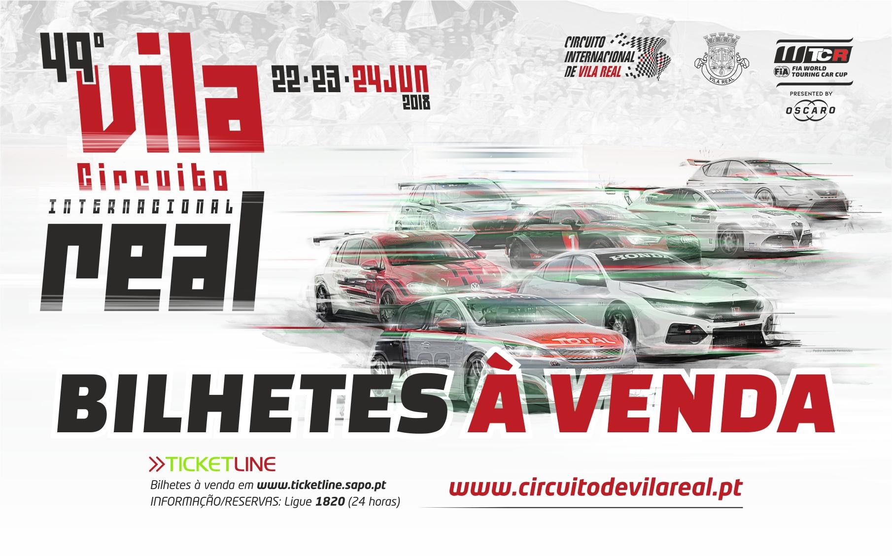 Circuito Vila Real : Estão disponíveis os bilhetes para o º circuito internacional de